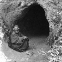 Meditating in a Cave